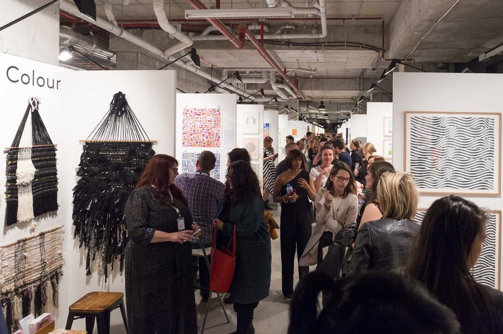 I ran the inaugural Sydney edition of The Other Art Fair in 2015 - lots of hard work to keep everything running smoothly