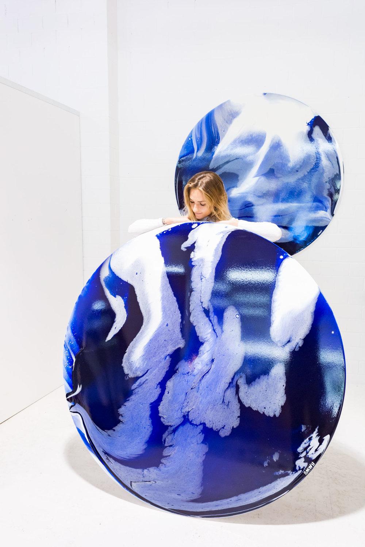 Ingrid Wilson Web by Jodie Barker