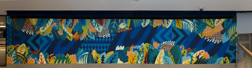 firebug mural - green hills - art pharmacy consulting
