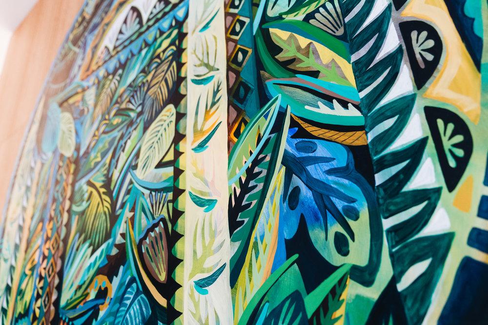 Closeup of the artwork. Credit: Art Pharmacy Consulting/Savannah Van der Niet