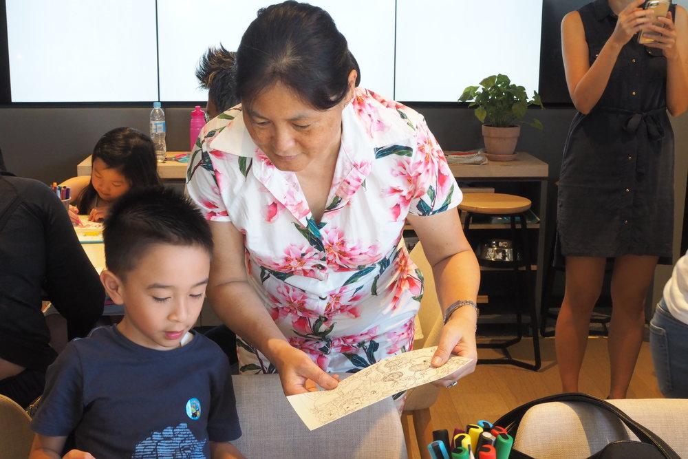 Children's CNY Lantern Workshop. Image credit: Art Pharmacy Consulting