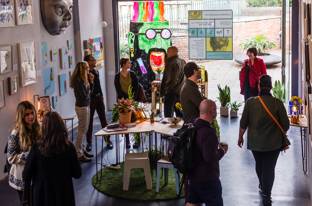 A pop-up exhibition in Oxford Square, Darlinghurst, curated by Art Pharmacy Consulting in 2014. Just one example of the culture and community that Sydney is capable of! Credit: Art Pharmacy Consulting