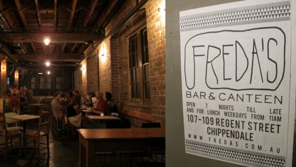 … while innovative bar-clubs like Freda's are heating up the nightlife side of things.