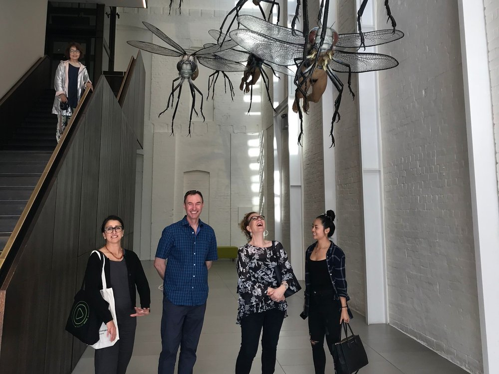 Institutions like White Rabbit Gallery have strengthened Chippendale's community and cultural feel by day … Credit: Culture Scouts
