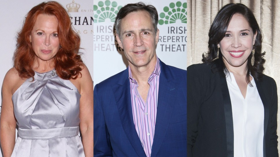 Carolee Carmello, Howard McGillin, and Andréa Burns