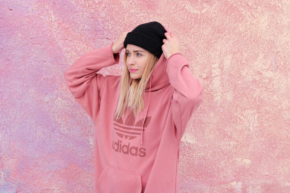 Adidas Original Women's Chicago Treefoil Hoodie