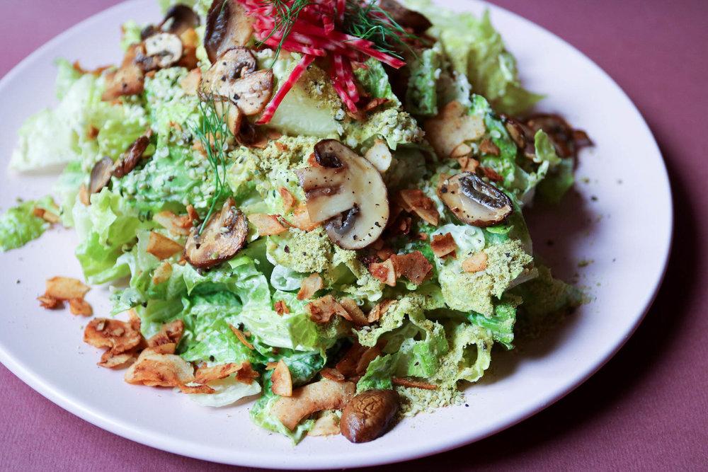 creamy ceaser salad