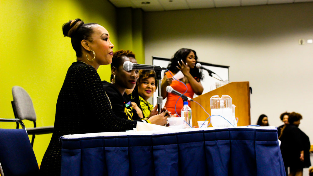 A Candid Conversation with Vivica A. Fox, MC by WGCI's Frankie Robinson.