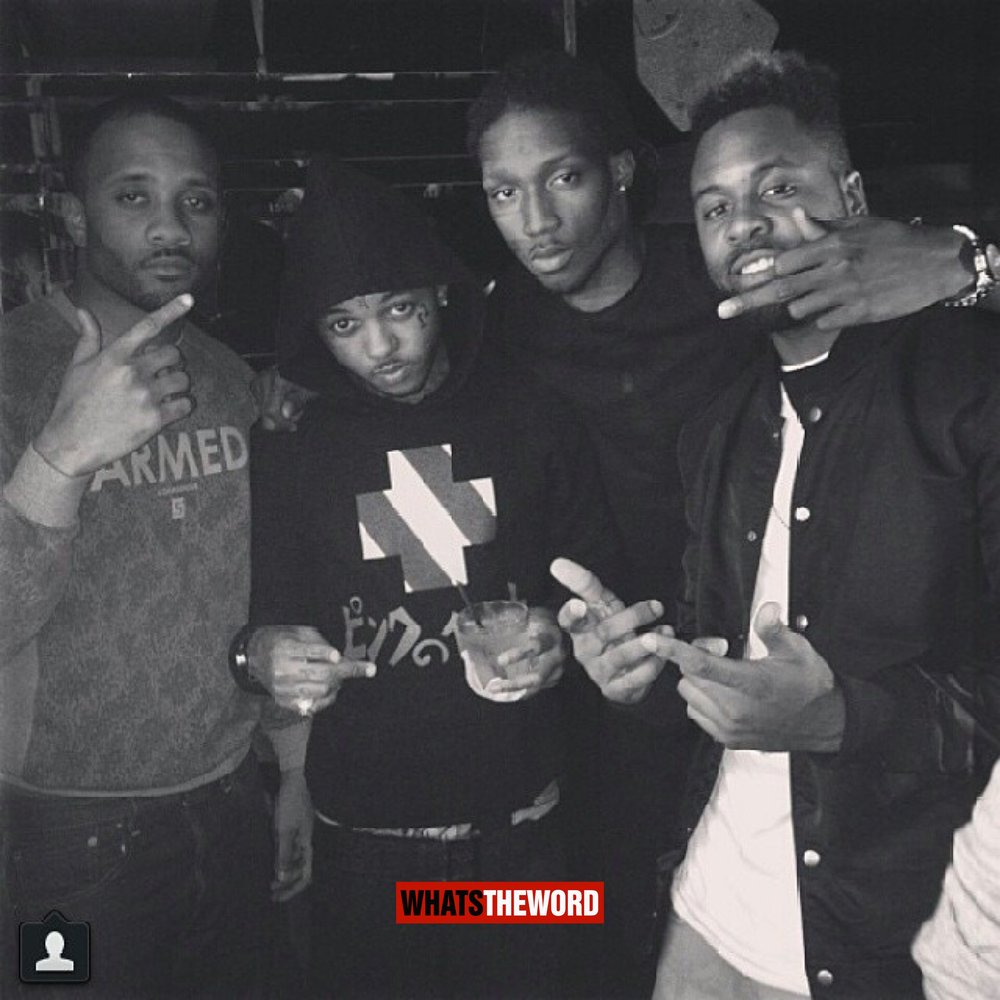 October 24,2013 Hotrod with Arab (Soulja Boy Friend) in the club in Chicago