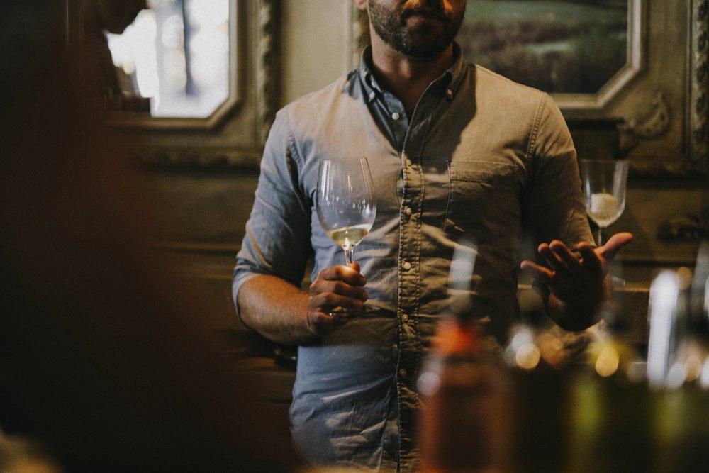 - Wine List