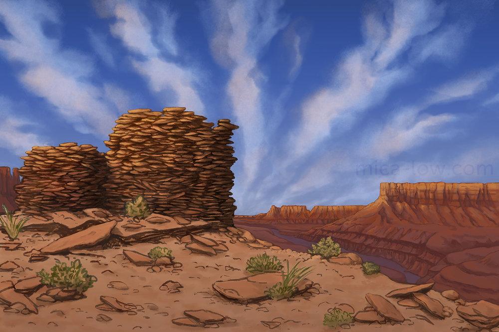 Canyonlands mural