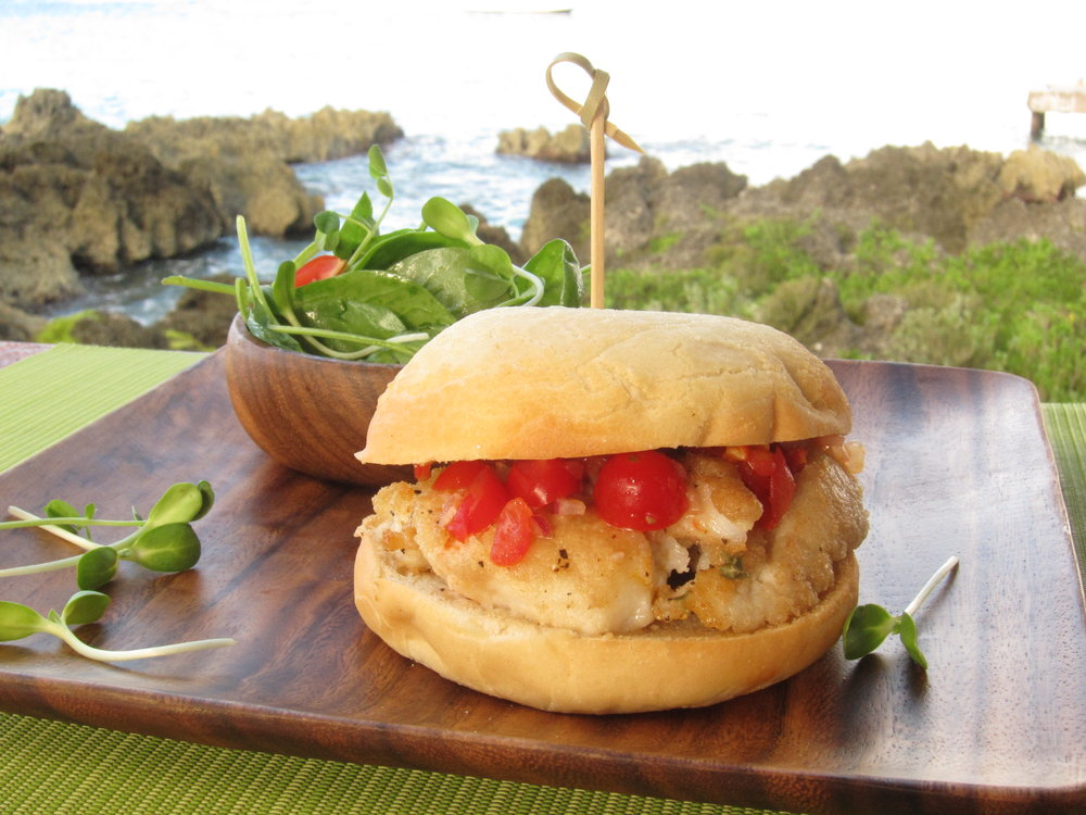 VIVO Lionfish Sandwich