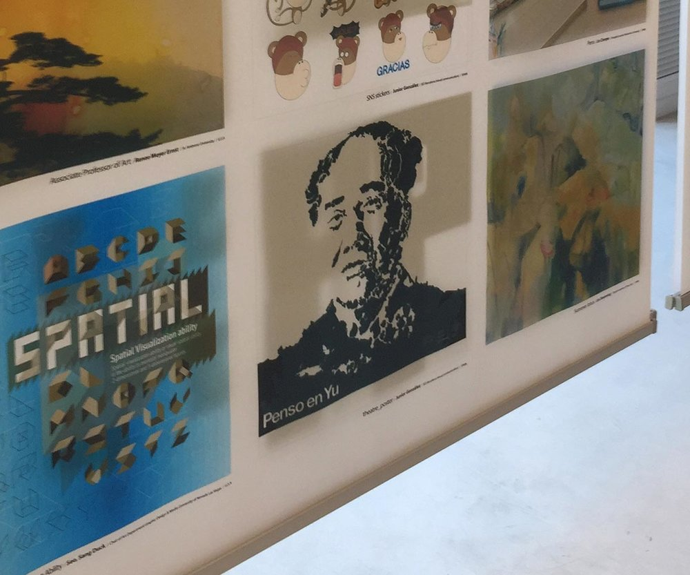 'Continental Mao' in   INTERNATIONAL EXHIBITION OF KOREAN SOCIETY OF BASIC DESIGN & ART IN IED BARCELONA .