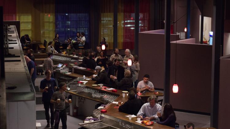duel brewing bar