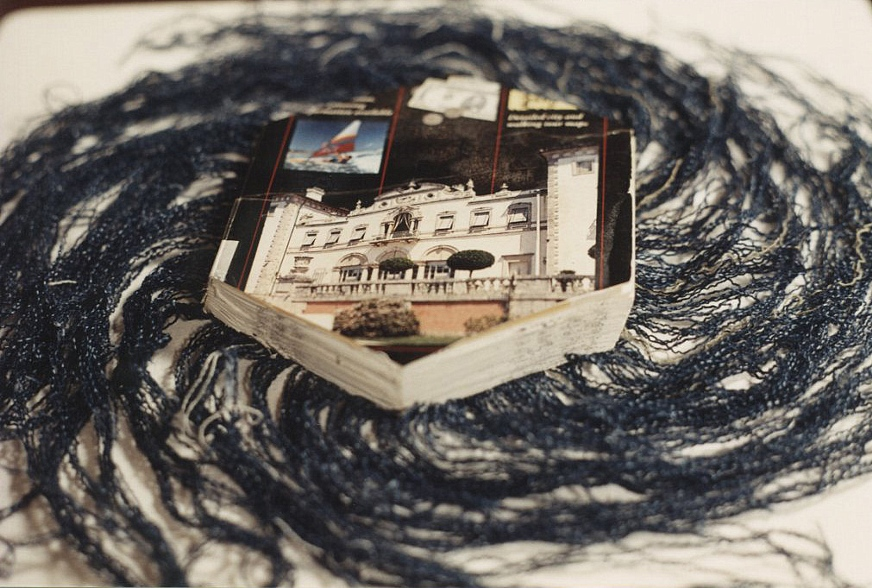 One Pair of Jeans Suspended by Knowledge, 2005