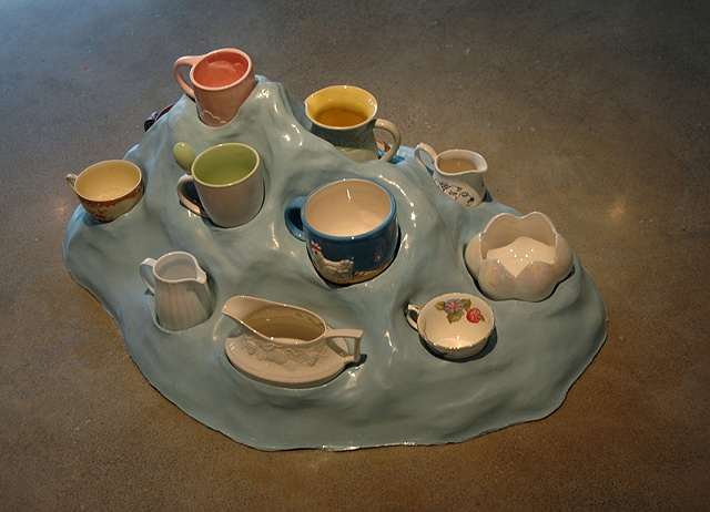 Dictatorial Tray, 2008