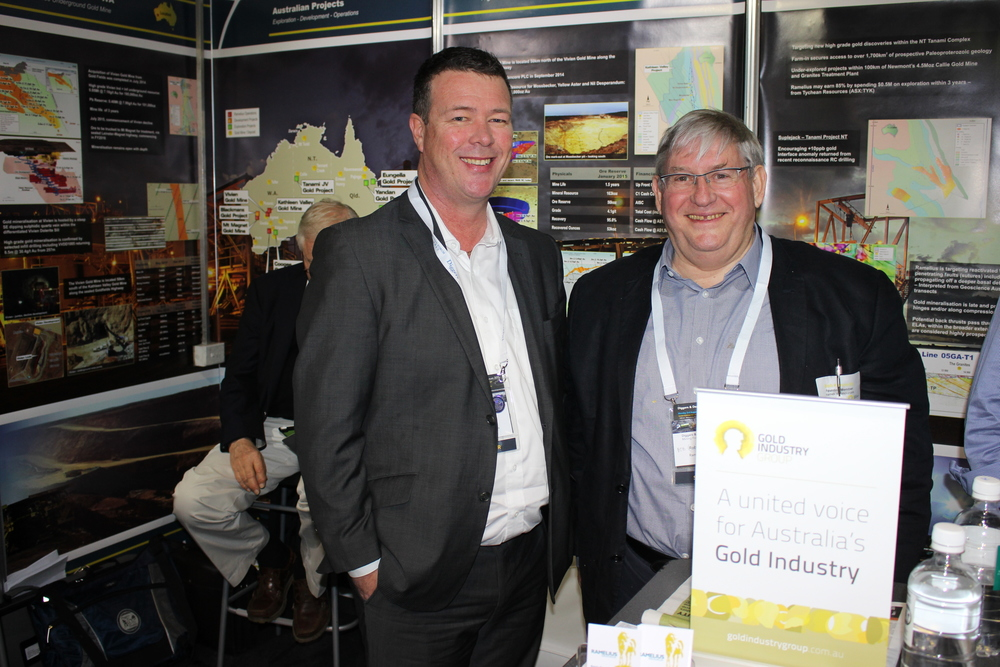 Founding Member Ramelius Resources at their Diggers & Dealers booth