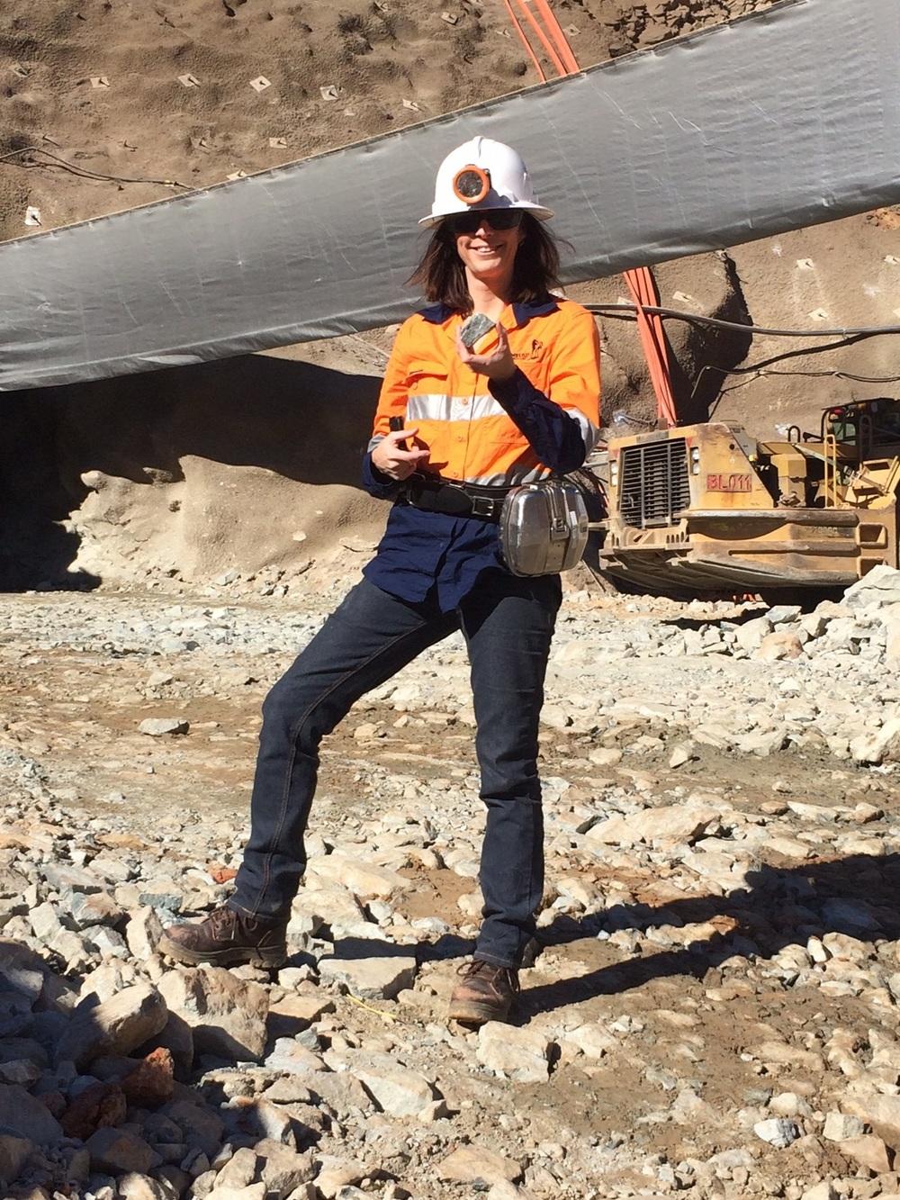 Geologist Jackie
