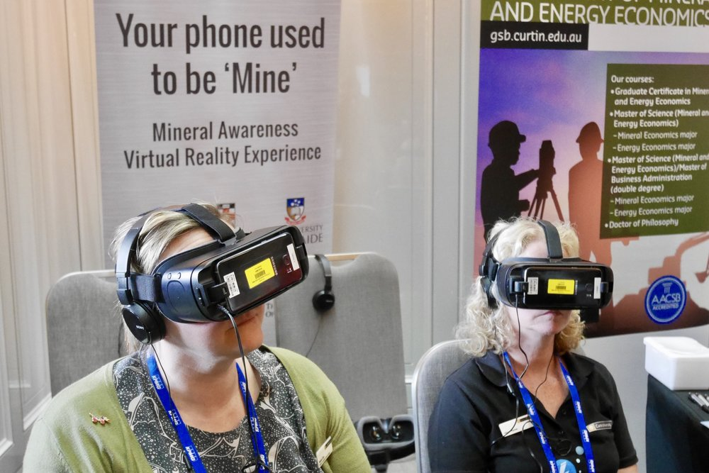 See inside a gold mine with virtual reality thanks to Mining Educations Australia!
