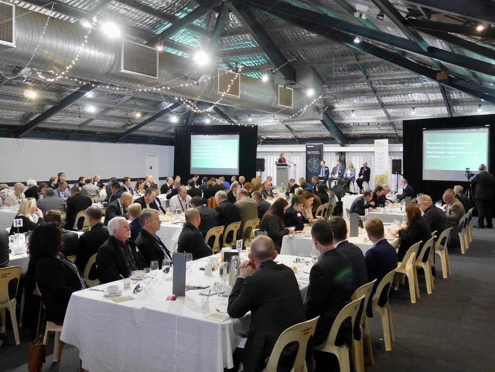 150 strong crowd at GIG & Deloitte's Mining Matrix breakfast