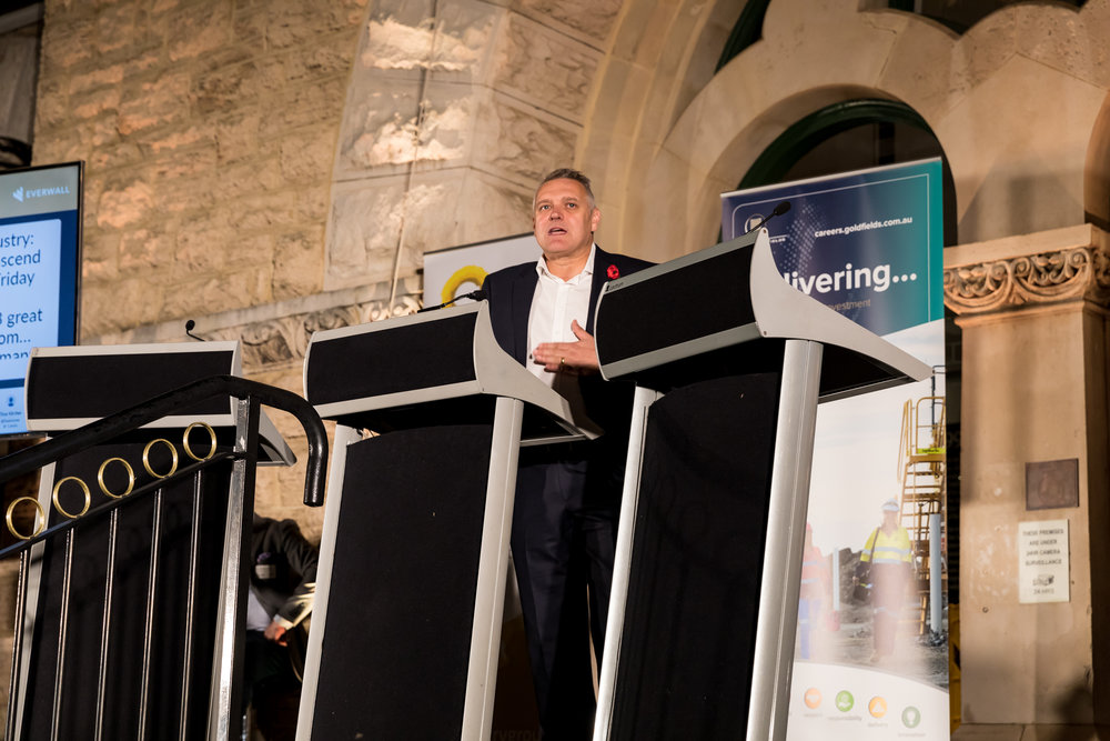 Newmont Australia's Group Executive of Legal Services Andrew Kennedy asked other male colleagues to join the conversation for the benefit of the industry as a whole.