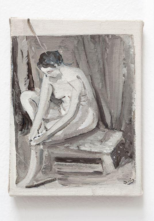 Michele Tocca,  Di un libro guardo le figure (d'apres Derain)