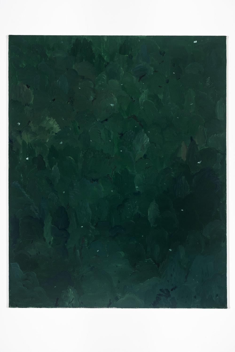 Poussin's Pollen , 2017, oil on canvas, 100x85 cm