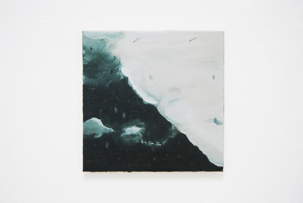 Constable Cloud #1 , 2012, oil canvas, 50x50 cm
