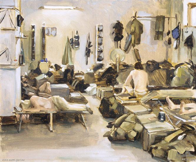 SAS sleeping quarters, Bagram airbase, Afghanistan