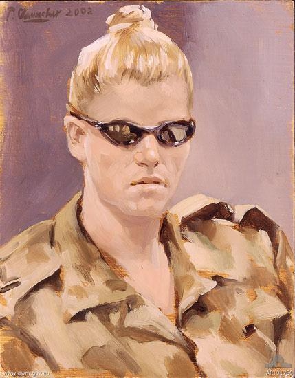 Corporal McKelvie RAAF, Diego Garcia