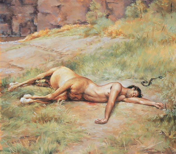 Wounded Centaur