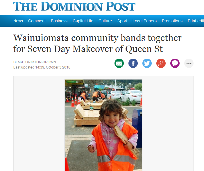 A great community response. Check out the Dominion post's article.
