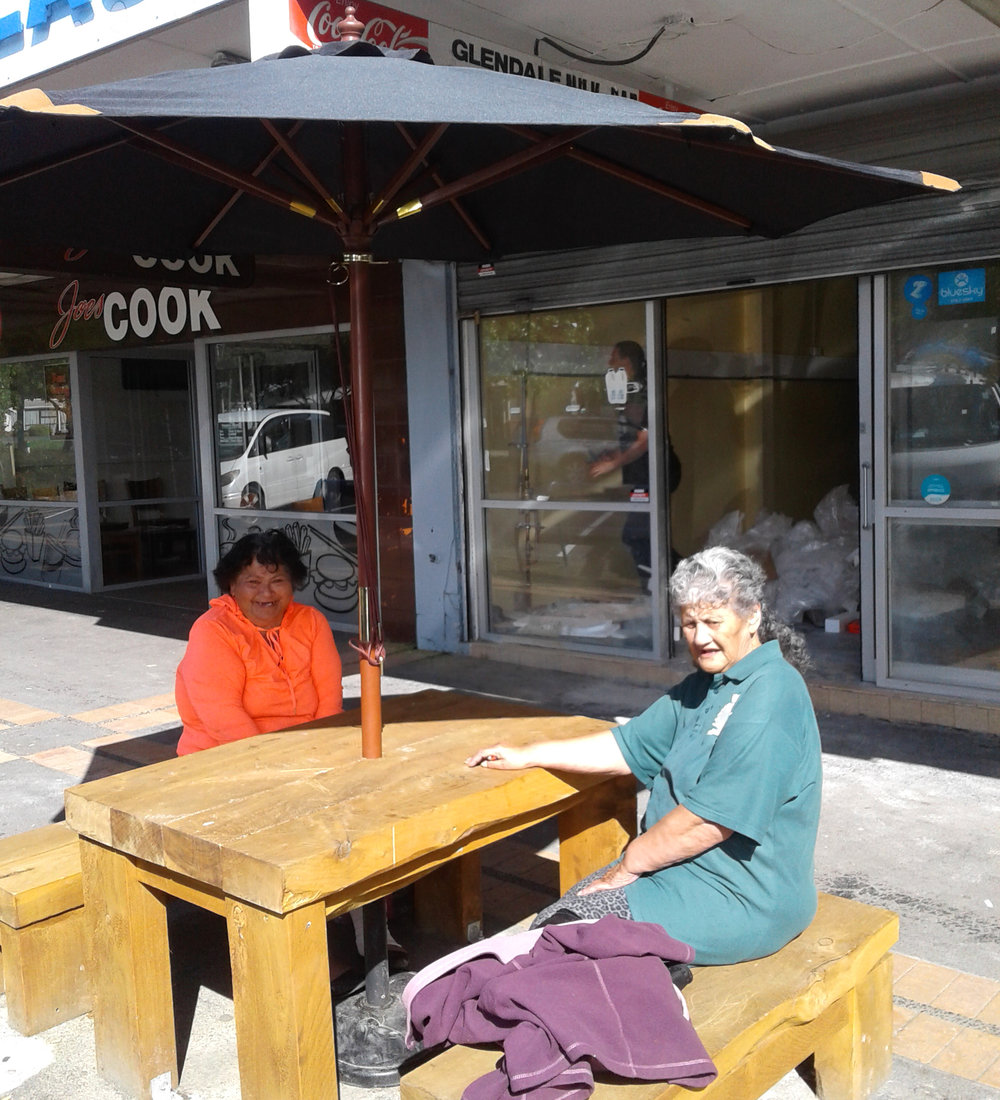 Wainuiomata is a very welcoming community, so we got these table and bench sets into queen st so locals & visitors can stay and chat. It's make our town centre welcoming & is good for businesses too.