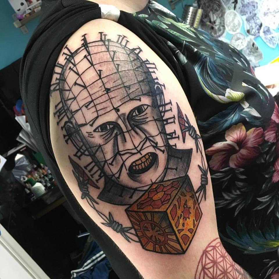 Tony embraced his inner hell raiser on this badass Pinhead
