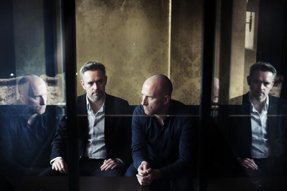 Filmskaperne Thomas Moldestad og Roar Uthaug, 2012