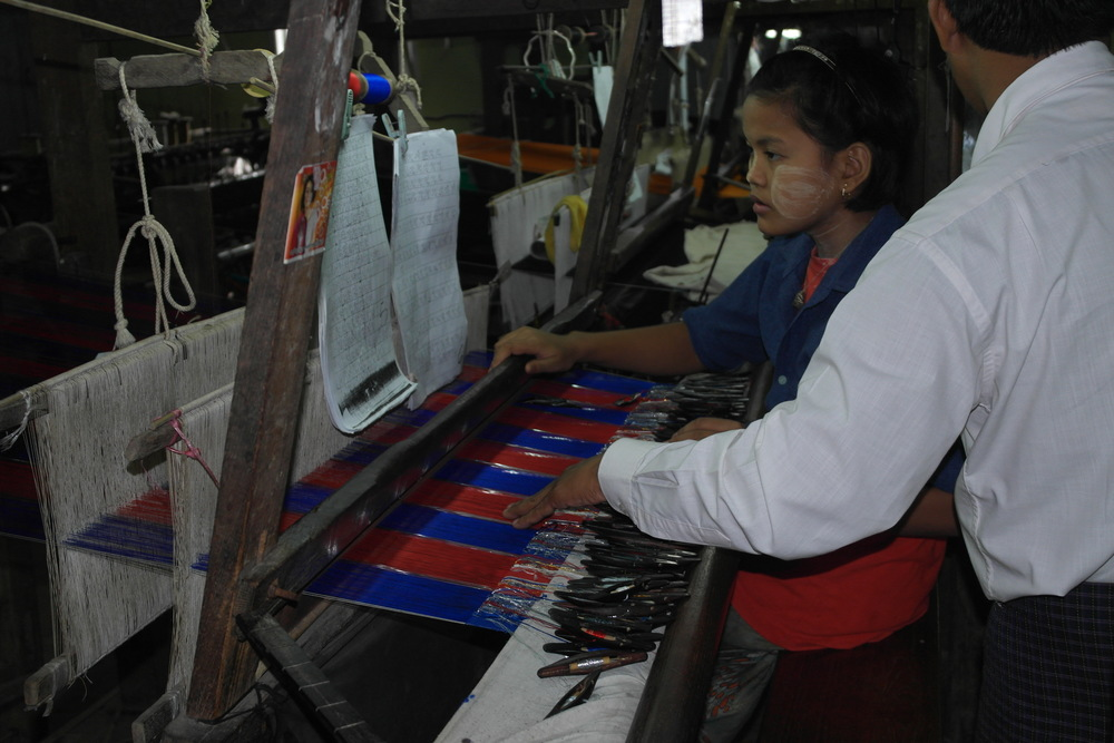Sagaing Hill Weaving