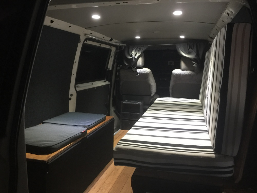 New interior and mattress covers