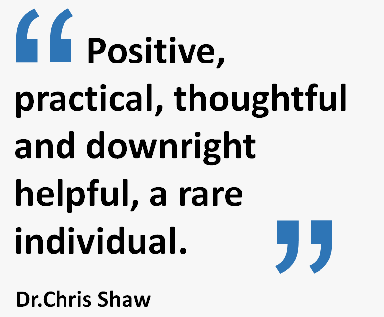 Dale Howarth - Positive, Practical & Thoughtful