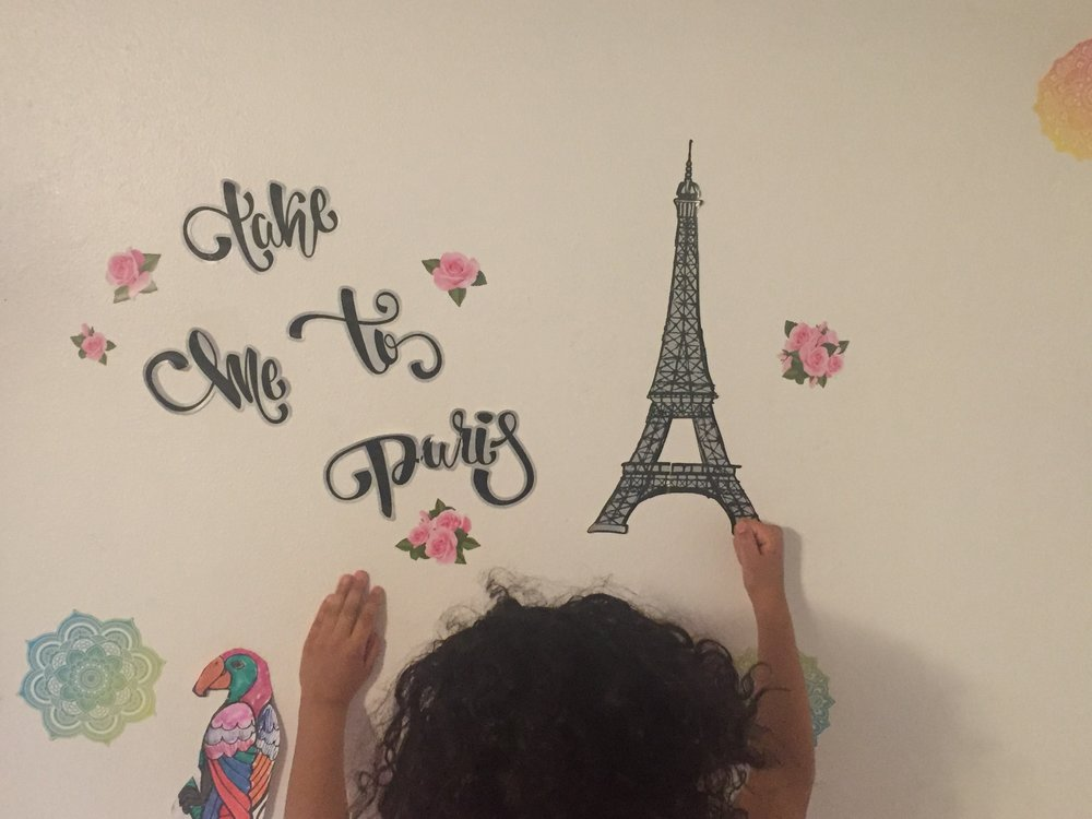 Wall in Isabella's Room...The 2017 World Wrestling Championships are in Paris, France in August! #TakeMeToParis