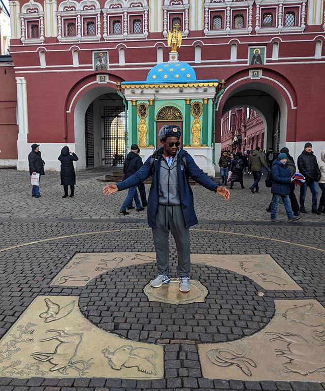 Middle of Moscow! Don't know where to put my hands!