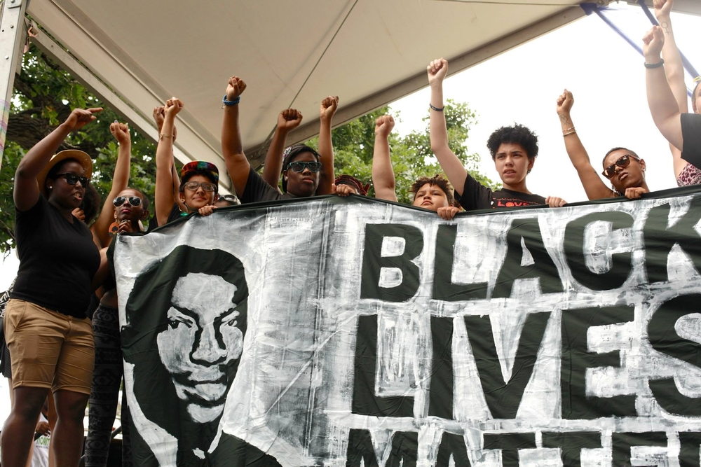 Black Lives Matters at Pride 2015