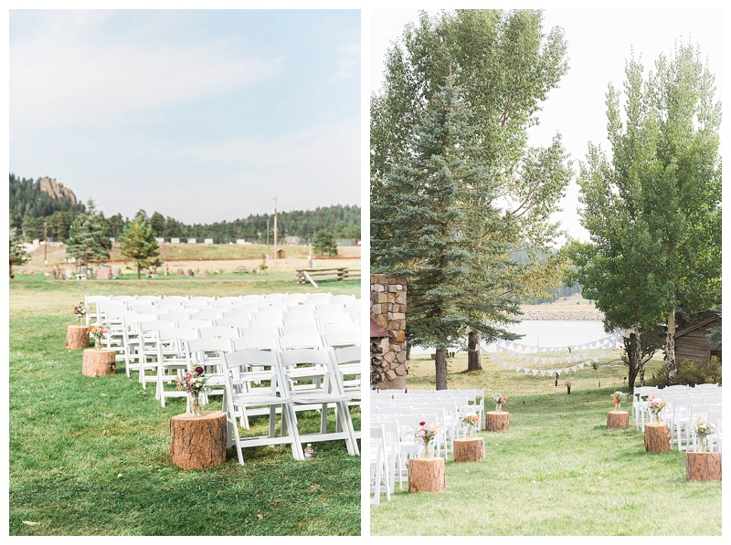 Wedding at the Barn at Evergreen Memorial Park
