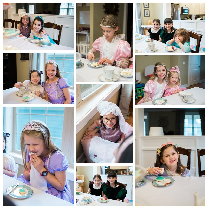 fancy tea party for little girls