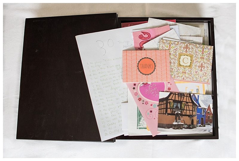 Box of Handwritten Letters and Cards