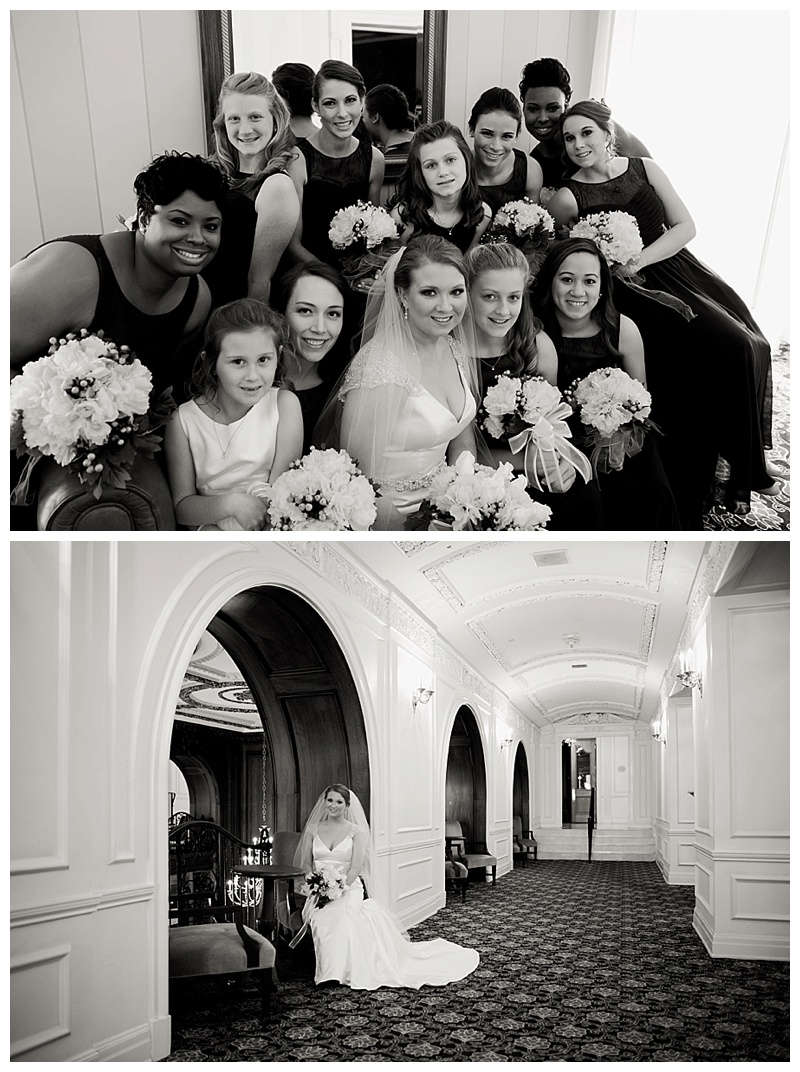 Bridal Portraits at Read House