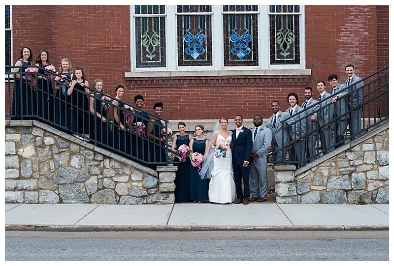 Bridal Party at Lindsay St Hall