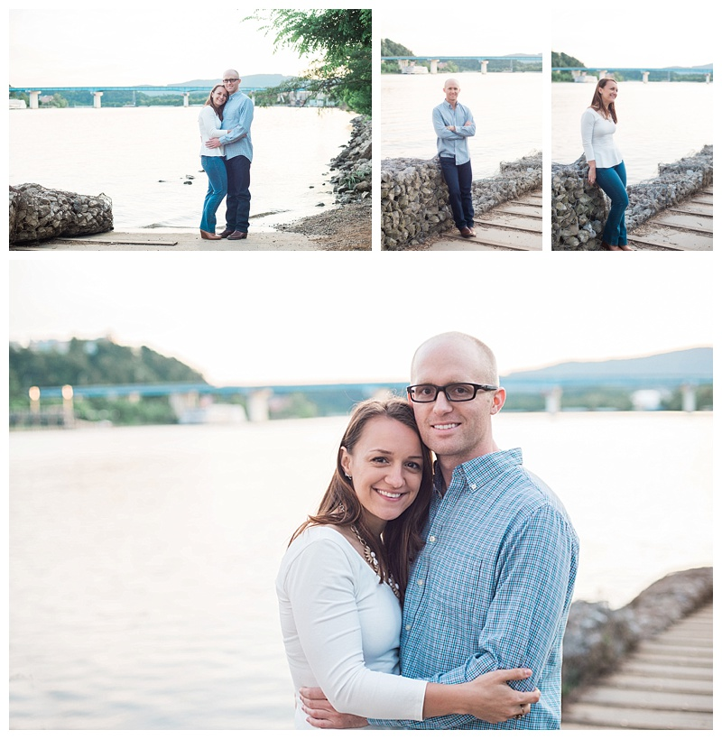 Tennessee River Engagement Session