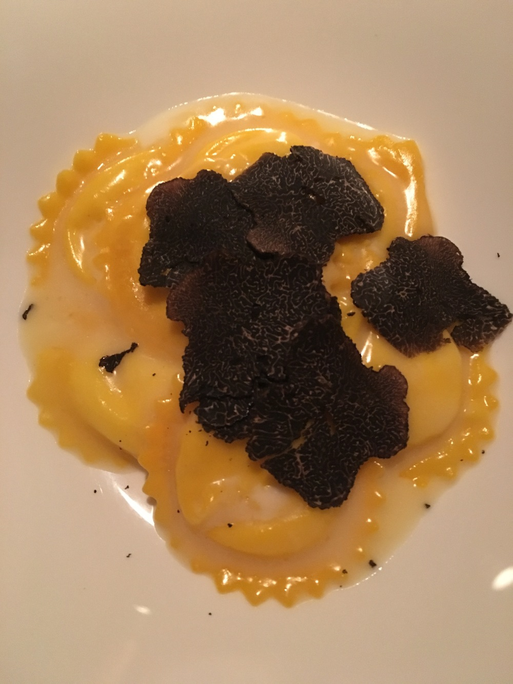 The incredible truffle pasta