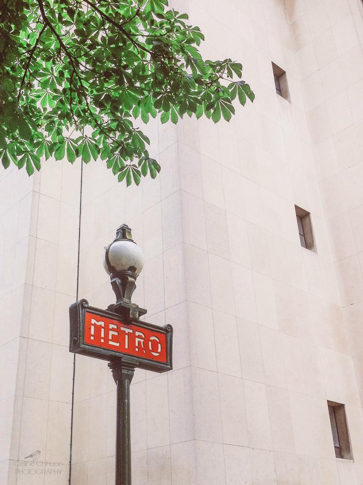 entree de metro