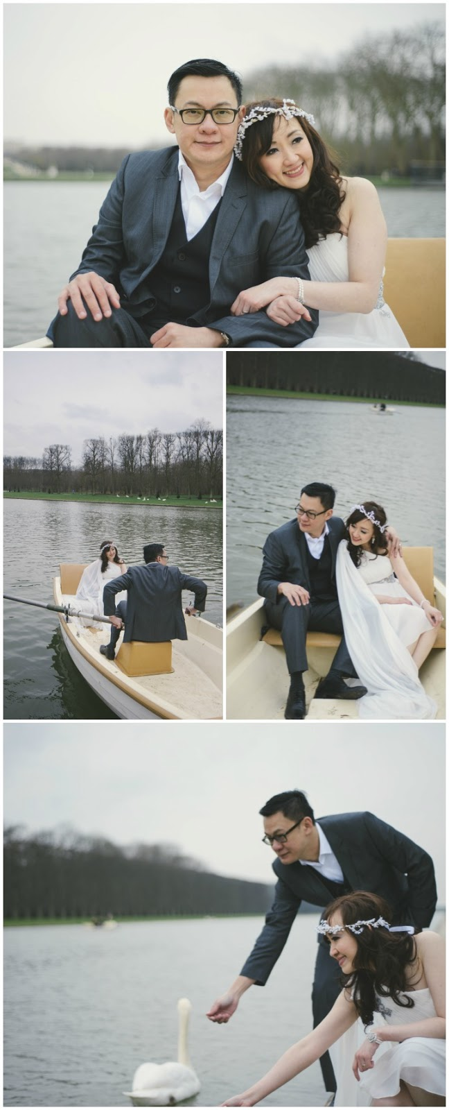 Paris PreWedding Photo Versailles